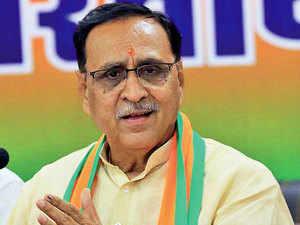 There is no community transmission in Gujarat: Vijay Rupani