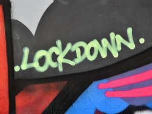 lockown--afp
