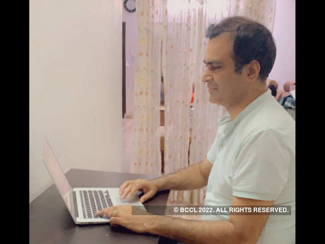 Ashok Rajpal ​​has created strong boundaries between work and personal life​ when working from home.
