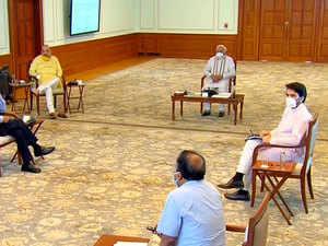 PM Modi discusses strategies on boosting economy, attracting FDI amid Coronavirus pandemic