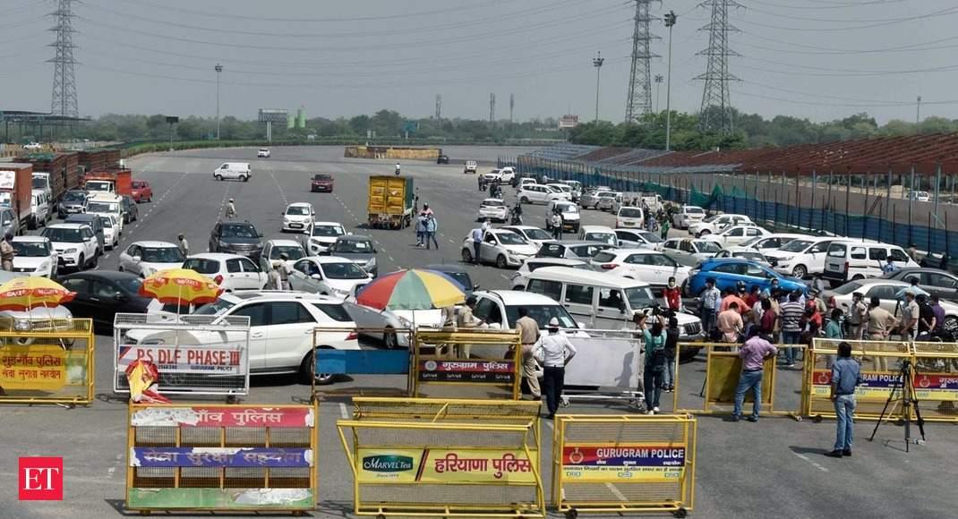 COVID-19: Delhi-Gurugram border sealed by Haryana Police
