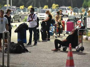 virus evacuate rescue airport bccl
