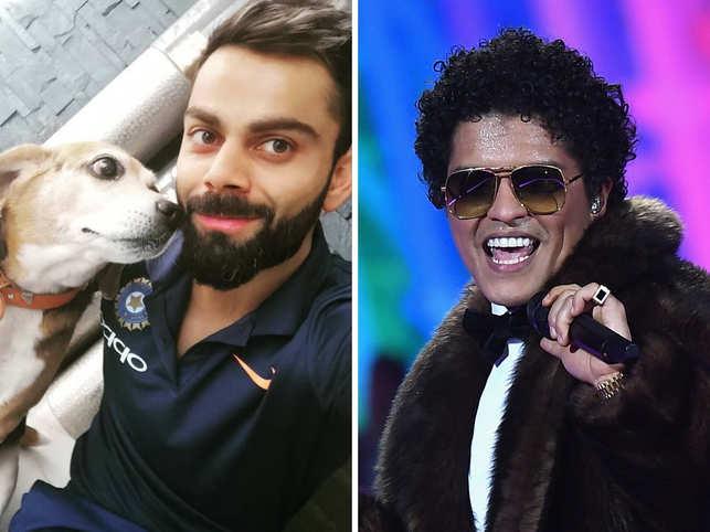 Virat Kohli's RIP Bruno tweet left Bruno Mars fan in a tizzy.
