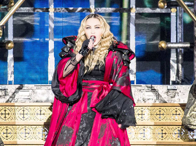 Madonna was forced to cancel her two shows in France amid the pandemic.