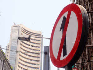 Sensex sheds 242 pts, Nifty slips below 9,200; financials top drags