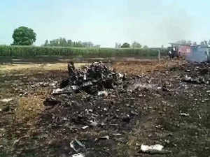 IAF fighter plane crashes in Punjab, pilot ejects safely