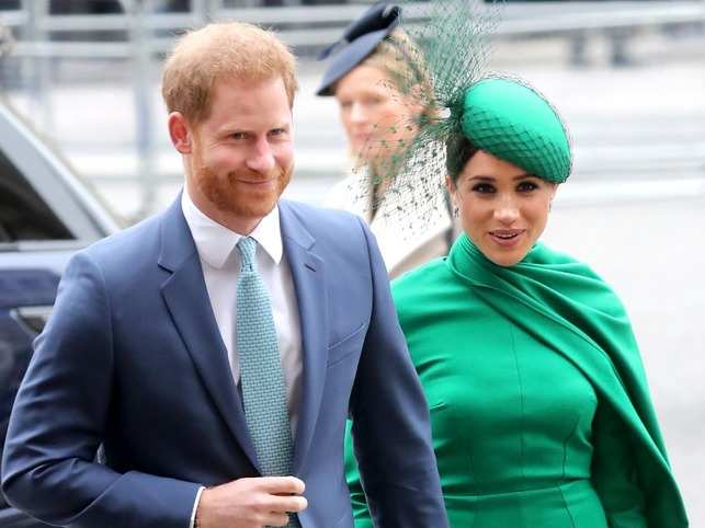 Harry, 35, and Meghan, 38, the Duke and Duchess of Sussex, quit as senior members of the royal family earlier this year.