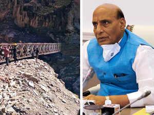 Rajnath Singh inaugurates strategically crucial Mansarovar Yatra Link Road on Indo-China border