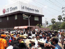 Vizag gas leak tragedy: Tension at LG Polymers plant as villagers protest demanding its closure