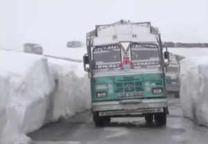 Indo-Tibetan Border Police escorts over 900 goods trucks to Ladakh amid lockdown