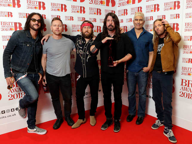"""""""We've kind of shelved it for now to figure out exactly when it's going to happen,"""" Grohl said."""