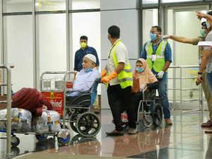 virus airport rescue pti