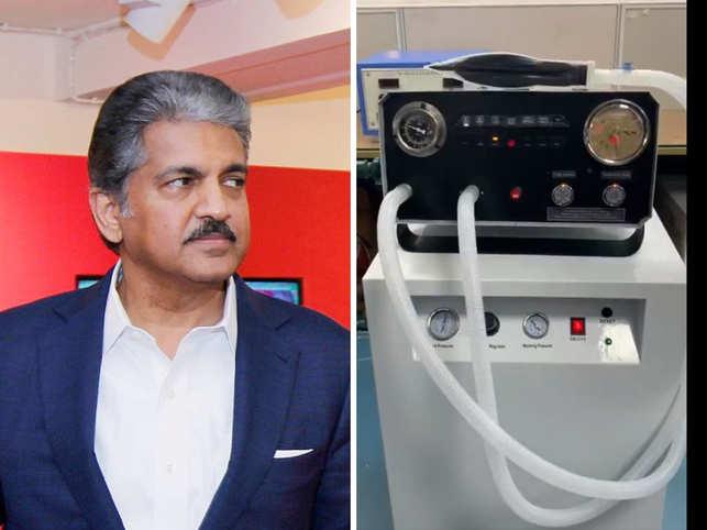 SkanRay-Mahindra ventilators, especially designed for Coronavirus, were ready for production.