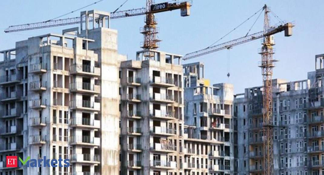 Share market update: Realty shares fall; Oberoi Realty dips 3%