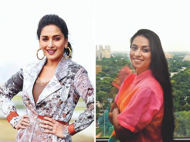 Dixit was last seen in the Bollywood movie 'Kalank' while Lilly Singh was seen on her late-night talk show 'A Little Late With Lilly Singh'.