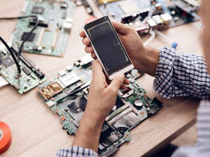 phone assembly getty