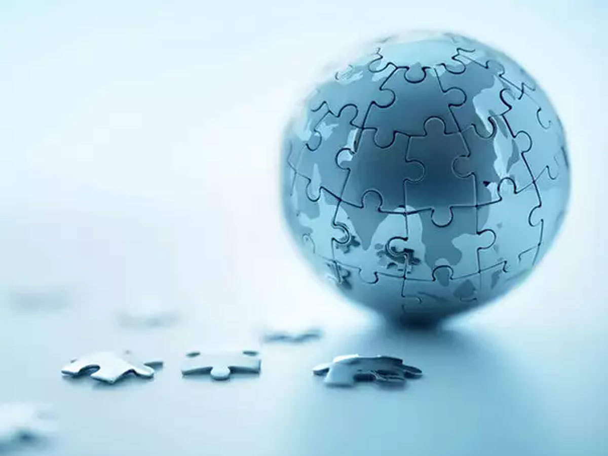 Image result for globalization metal globe puzzle