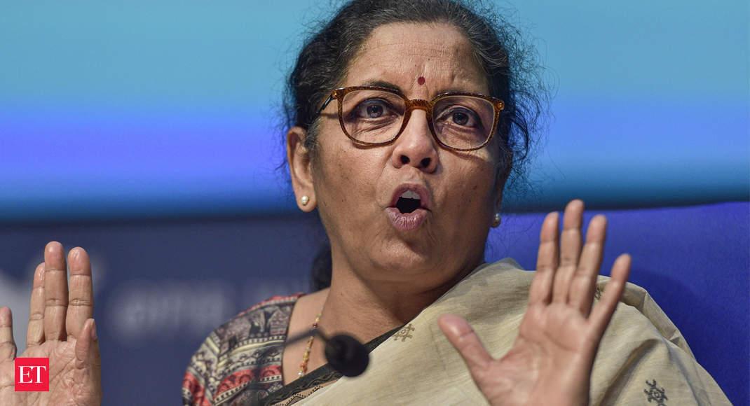 Government to privatise non-strategic PSUs: FM Sitharaman