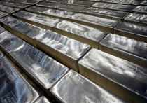 FILE PHOTO: Silver bars are pictured in Silver Bullion's vault in Singapore