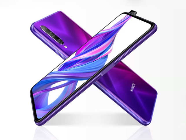 Honor 9X Pro will be available in two colour options - Midnight Black and Phantom Purple​.