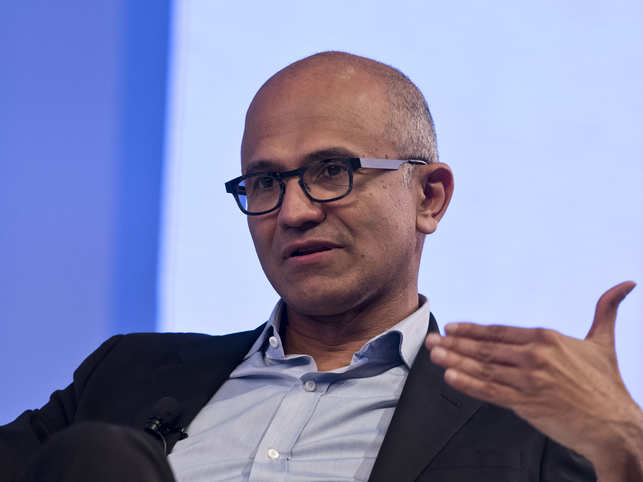 In the no-holds-barred interview, while Nadella acknowledged that the productivity of the Microsoft employees has gone up, he felt it isn't something to 'overcelebrate'.