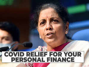 FM's covid stimulus package: Personal finance relief measures