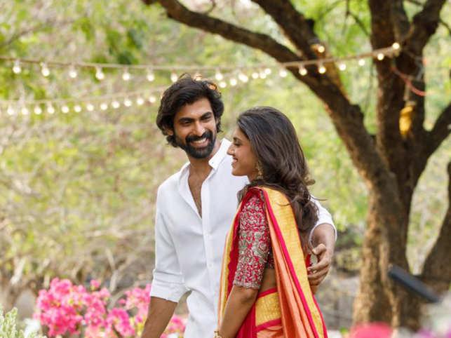 Rana Daggubati and Miheeka Baja get engaged.