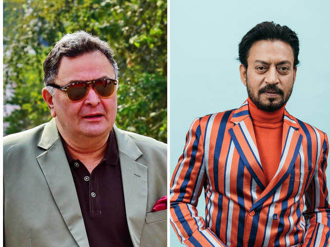 Veteran actor Rishi Kapoor succumbed to leukemia on April 30, less than 24 hours after Irrfan Khan died of colon infection on April 29.