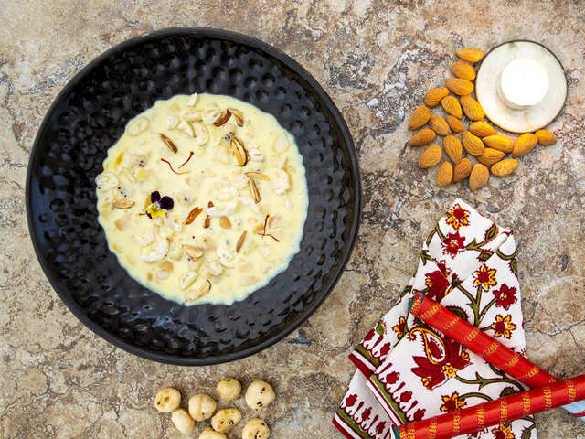 What's Eid without good ol' kheer? Easy recipes to cook yummy almond & makhana kheer, custard apple rabri