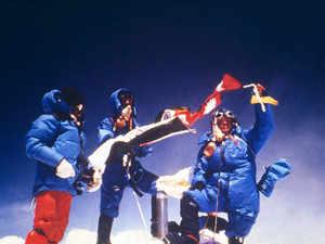 Bchendri Pal on Everest Summit - 23rd May 1984