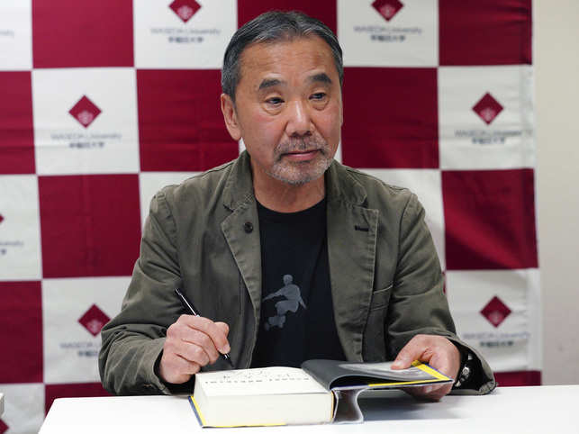 Murakami has written stories inspired by events that have violently shaken the society.