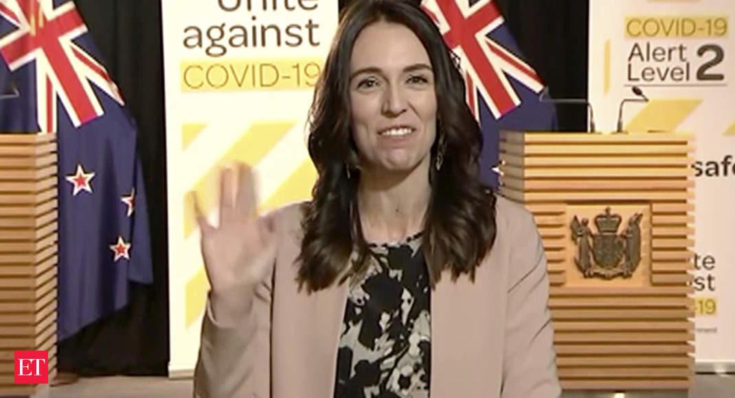New Zealand PM Jacinda Ardern unruffled as quake hits mid-interview