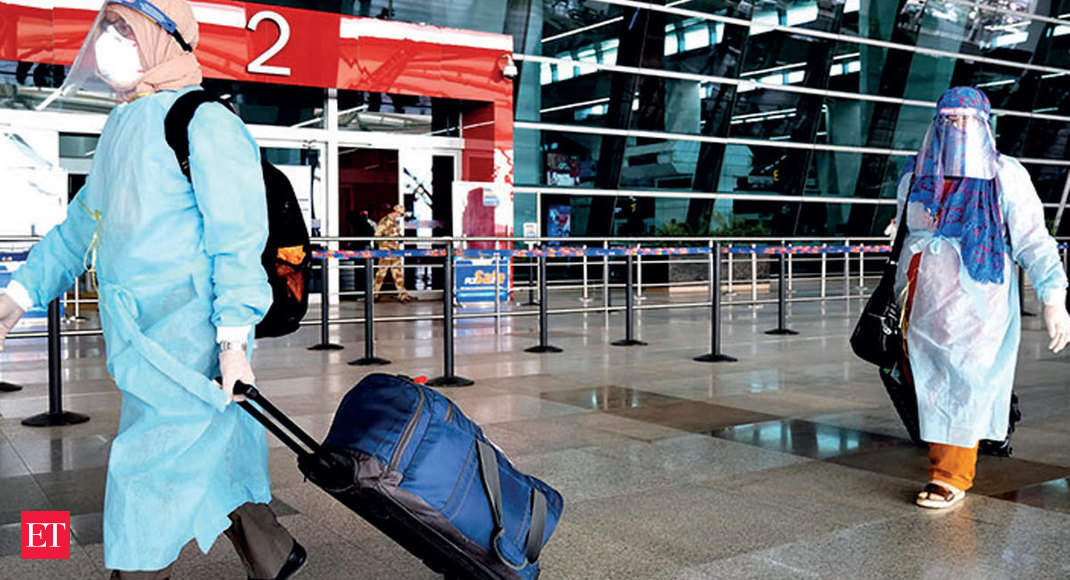 Hazy Start: Time didn't fly for airline passengers on Day 1