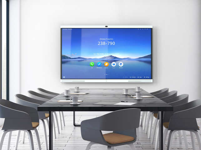 IdeaHub also supports HD projection, open office AppGallery and remote collaboration which is a must-have in meeting rooms.