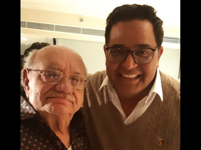 Vijay Shekhar Sharma said Bejan Daruwalla will always have special place in his heart. ​