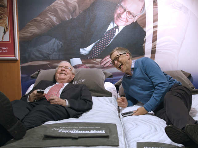 Bill Gates has been playing bridge for years with Warren Buffett, and calls him his favourite partner.