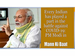 Keep fighting, wear a mask, wash hands and take all other precautions, says PM Modi in Mann ki Baat