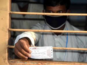 virus railways ticket migrant ani