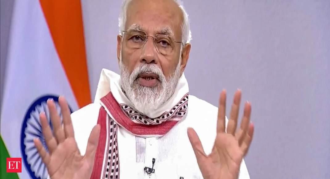 Strengthening economy among the highest priorities of govt: PM Modi