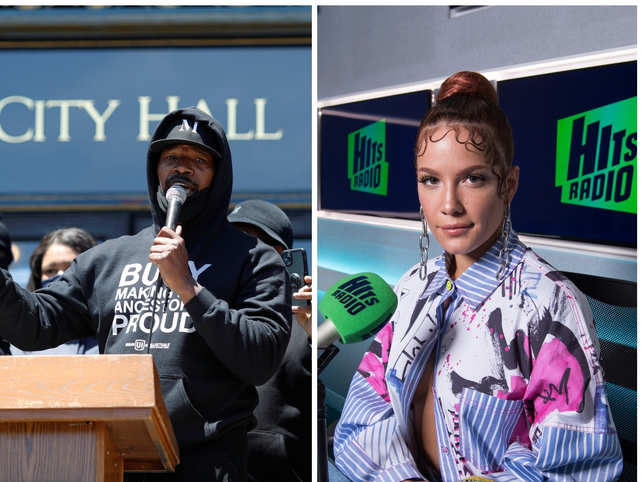 Many celebrities turned out Saturday and Sunday at sometimes intense protests in Los Angeles.