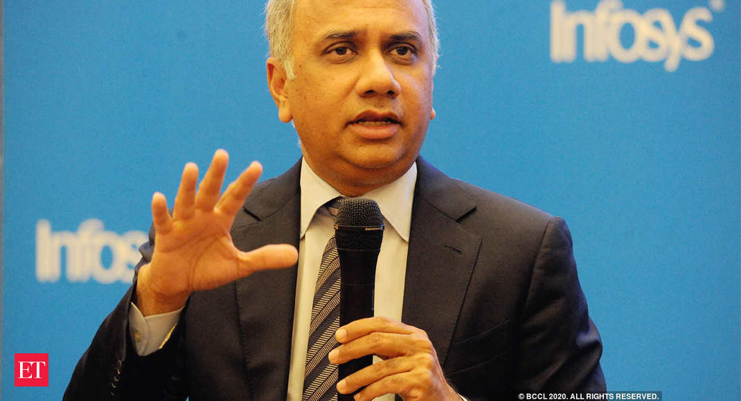 Image of article 'Infosys CEO Salil Parekh draws Rs 34.27 crore pay package in FY20'