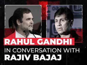 India's 'Draconian' lockdown flattened the wrong curve, the GDP curve: Rajiv Bajaj to Rahul Gandhi