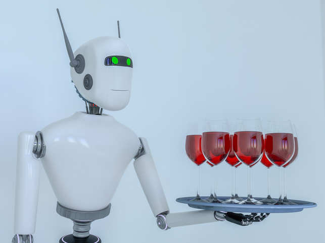 Customers seemed encouraged by the safety the robots provided, though one pointed out a critical quality the robo-bartenders lacked.