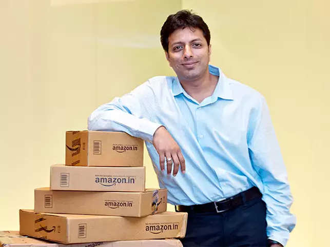 Sharing a photograph from the early days of Amazon, the top boss couldn't help but get a little nostalgic.