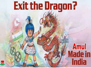 'Exit the Dragon' post: Amul seeks clarification from Twitter after its account got restricted