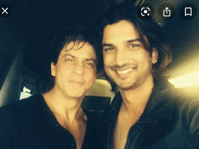 Rajput had previously gone on record and spoken at length about how he chose to become an actor because of SRK.