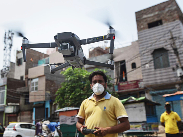 From locust watch to mapping, drone use takes off. Ease the limits and it will soar, says industry.