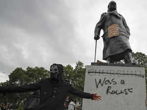 View: UK should tear down Churchill's statue