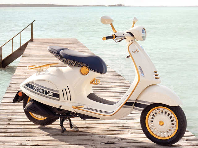 Style meets craftsmanship: All-new Vespa 946 Christian Dior scooter will launch in spring 2021