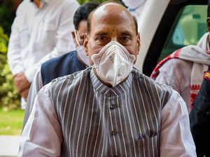 Union Defence Minister Rajnath Singh